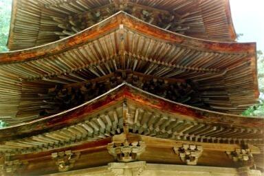 A pagoda, Bessho Onsen (photo AN)