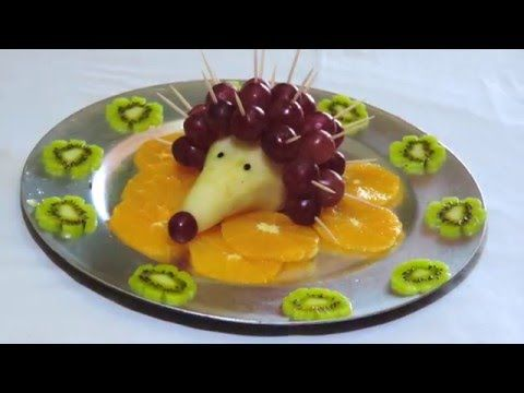 Funny Way to Serve Grapes :) By J.Pereira Art Carving Fruit and Vegetables - YouTube