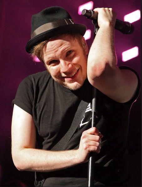 Awe u think I'm cute thanks I'm just gonna hug this ...  Patrick Stump Cute 2013