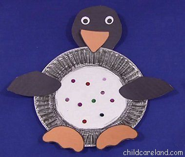 Paper Plate Penguin - Pinned by @PediaStaff \u2013 Please Visit ht.ly/63sNt & 106 best Playdate Ideas images on Pinterest   Day care For kids and ...