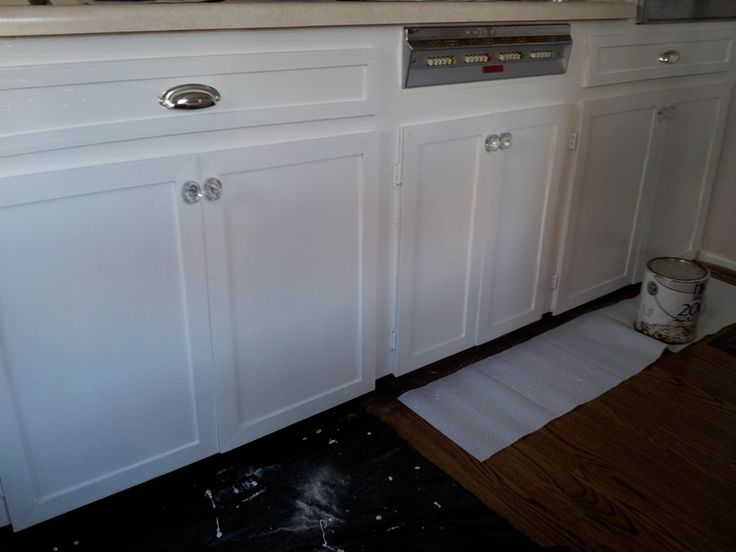 Kitchen Cabinets Makeover | Brooklyn House — Elizabeth Burns Design, Raleigh NC Interior Designer