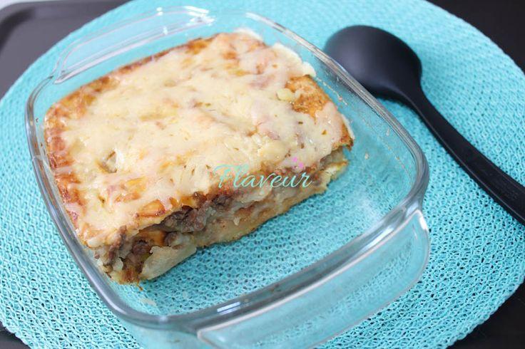 Plăcintă piure cu carne de vită - Flaveur