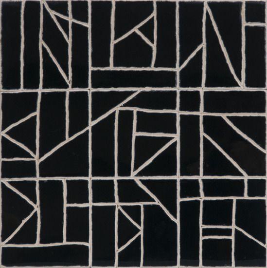 Nico Kok - Black tile tableau