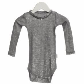 Beautiful, warm, comfortable & organic wool body for girls. Lovely lace details. For the delicate skin, organic wool is the safe choice for keeping warm & dry skin in all weather.