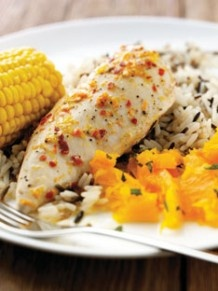 Try this chicken recipe in your steamer http://bit.ly/J5872J