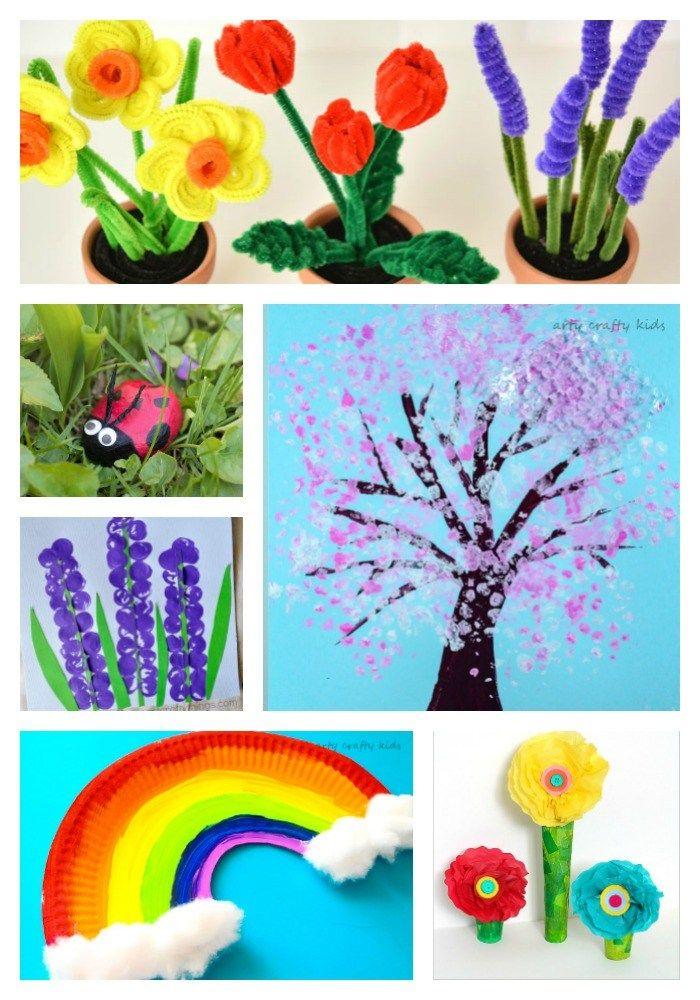 Arty Lstivý Děti |  Řemesla |  jarní |  25 Jarní řemeslné výrobky pro děti |  Objevte nádhernou sbírku snadné a zábavné Spring řemesel pro děti!