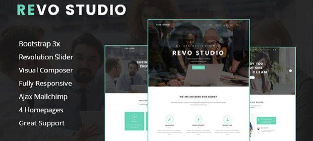 Revo Studio – Tema WordPress Multiuso