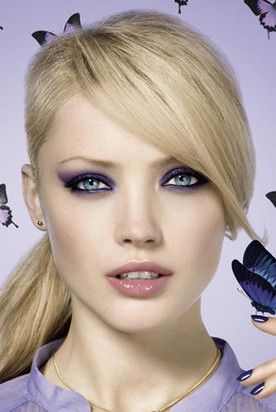 17 best images about blue eye makeup on pinterest colorful makeup blue eye makeup and gold - Blonde yeux bleu ...