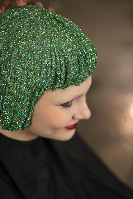 Green hair! Magical :)