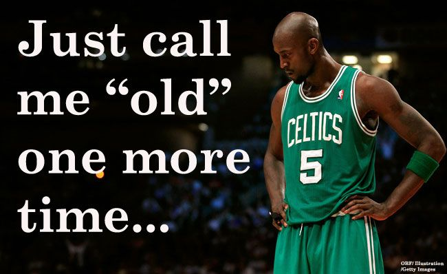 Boston Celtics Kevin Garnett