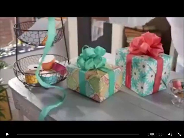 Fiocchi per pacchi regalo