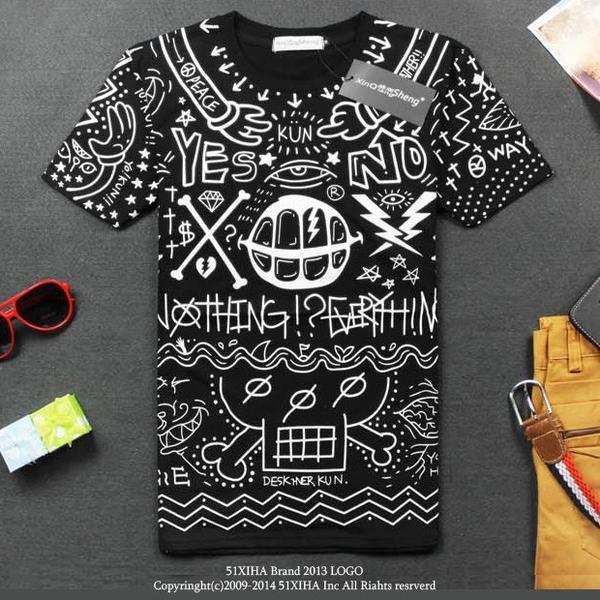 Kluven T-shirt