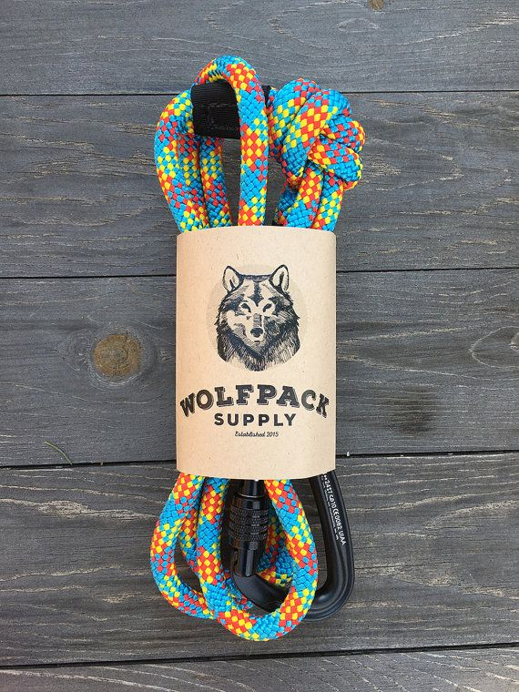 Aprés Dog Leash by WolfpackSupplyCo on Etsy