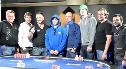 Table finale du Main Event de l'EPT Deauville. Go Rémi ! #Winamax #poker