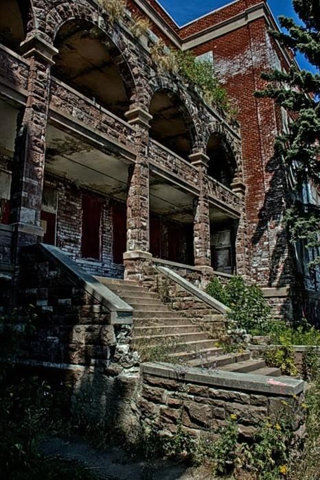 Abandoned Holy Family Orphans Home - Marquette, Michigan