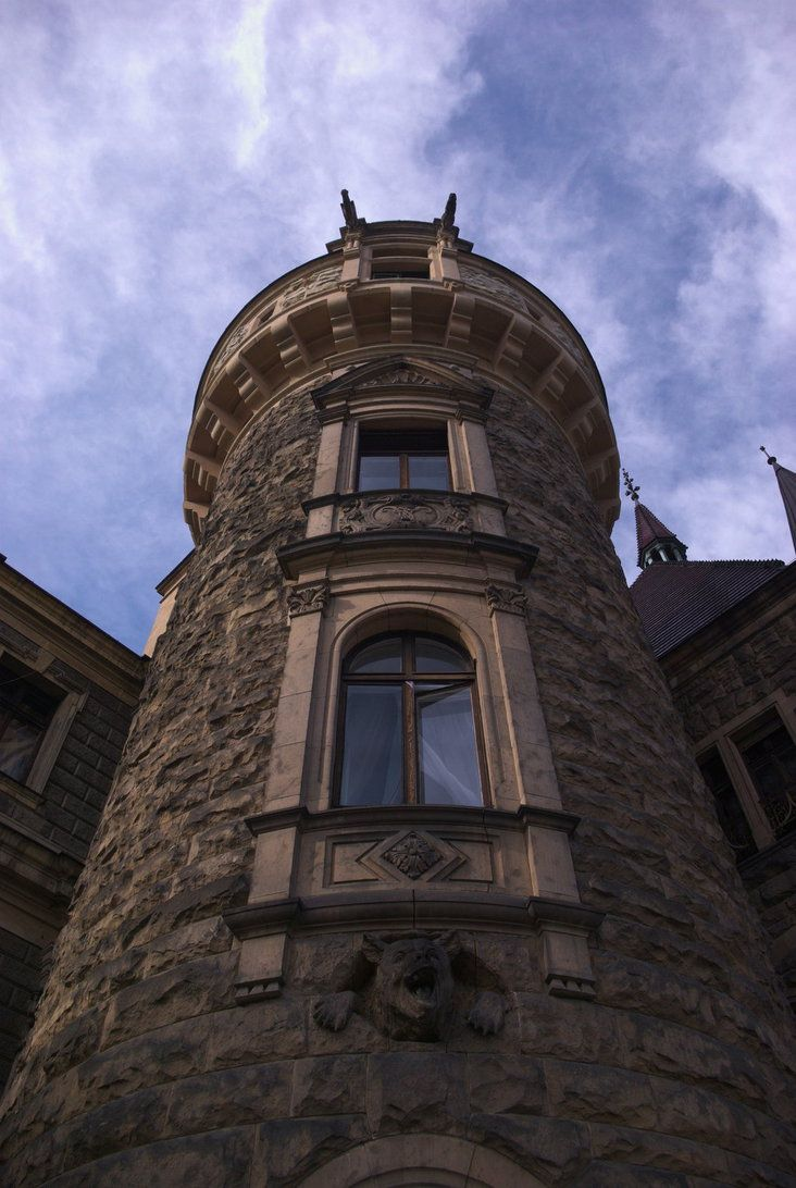bear on the tower in the Moszna castle by Wodzionka81 on DeviantArt