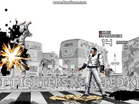 KOF WOJ Darkness ~ Darkness ASH & Kyo vs Saiki & Sachiel