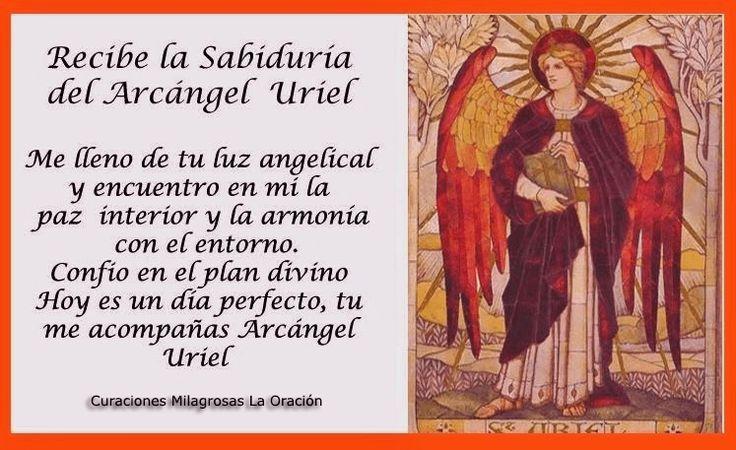 ARCÁNGEL URIEL También te gustará:Oración