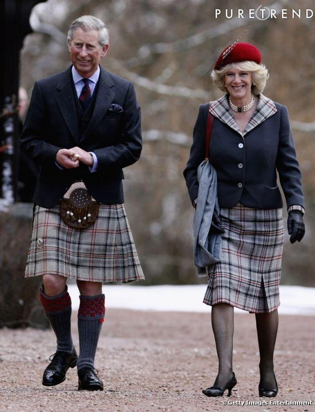Tradition oblige, le Prince Charles a revêtu le kilt pour une cérémonie en Écosse. Caleçon ou pas caleçon ?