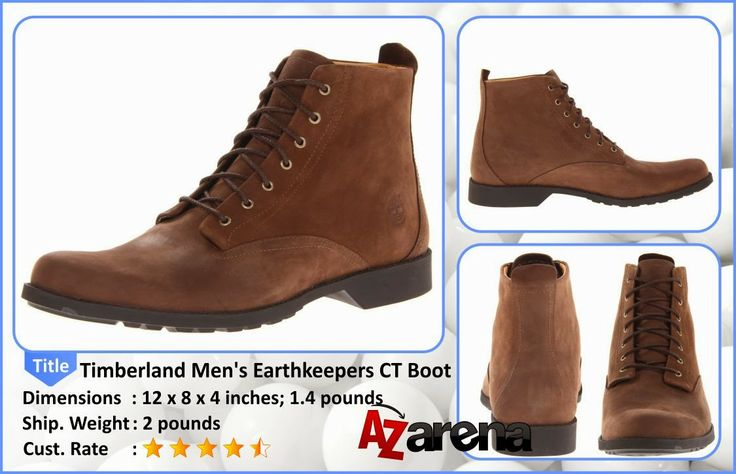 "Timberland Men's Earthkeepers CT Boot Review | When Timberland says ""Lite"" that doesn't mean it isn't built tough and ready for the elements. It just means it won't weigh you down. Our Earthkeepers City Lite Waterproof Boot is crafted from 100% waterproof nubuck leather that's been burnished and tumbled to give it a well lived-in look. Every seam has been sealed to make sure rain, snow, slush and sleet can't seep in—so when conditions are at their worst, you can still look your best."