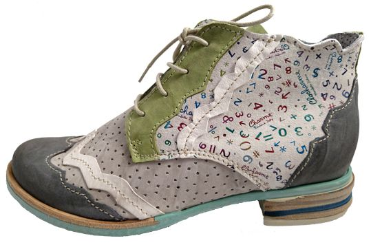 Ankle shoes for women, made in Italy