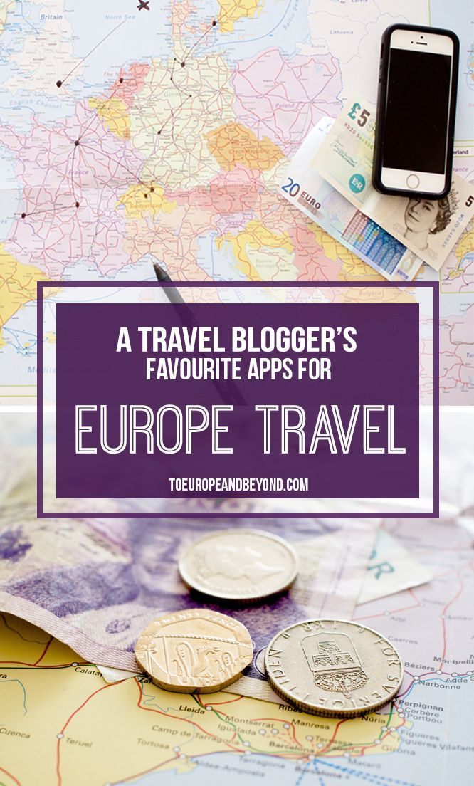 my favourite europe travel apps