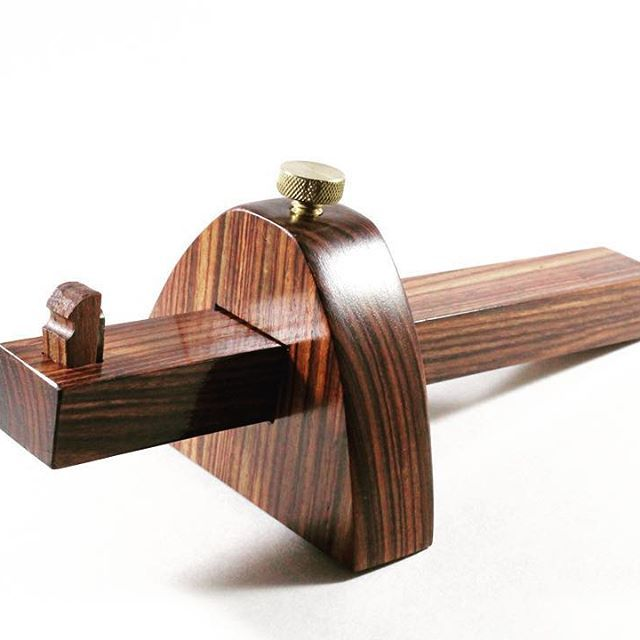 Kingwood marking gauge (and previously shared scratch awl) for @o1crane. He was…