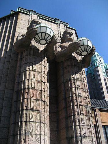 Art Deco building, Helsinki, Finland