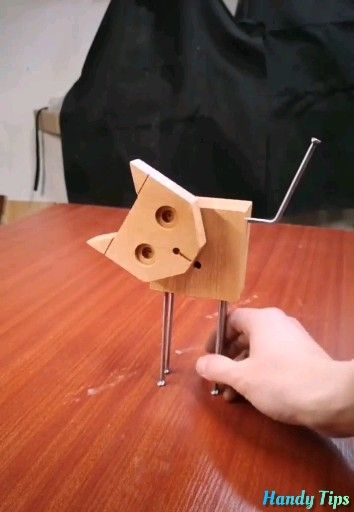 Wooden Animal Crafts to Decorate your House!