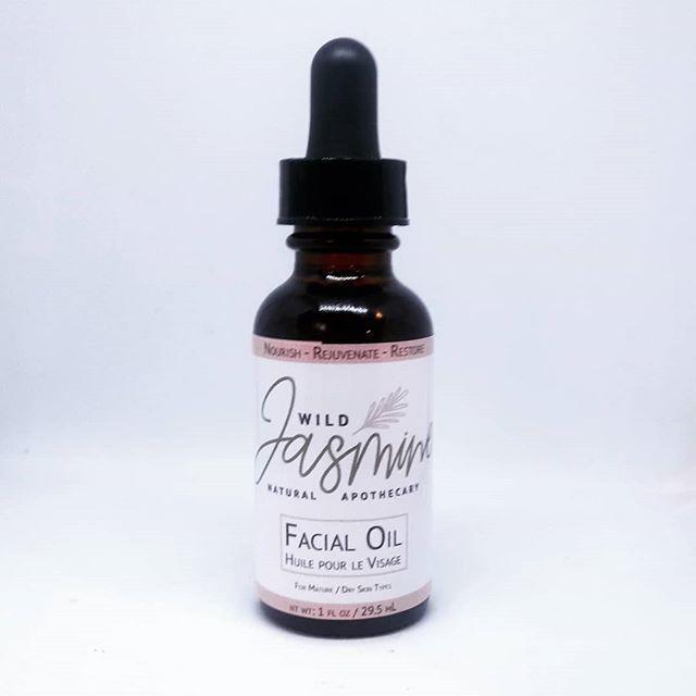 F A C E  facial oil - same customer favourite formulation fresh new look  . . . . .
