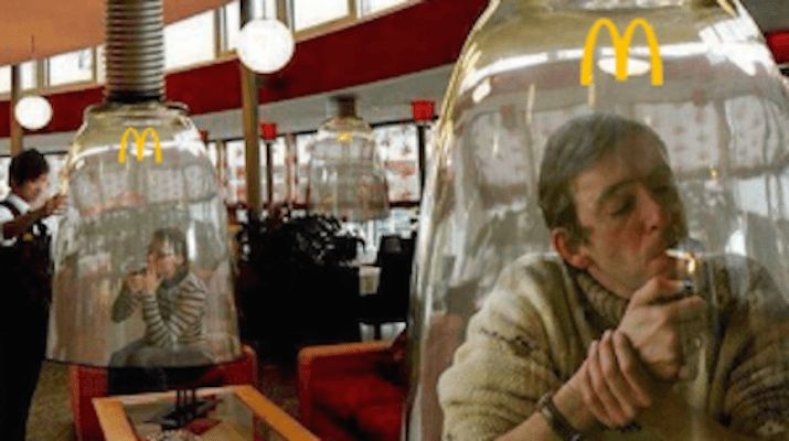 15 Colorado McDonald franchises have announced that they are converting their McDonald's Play Place areas into marijuana friendly smoking section's.