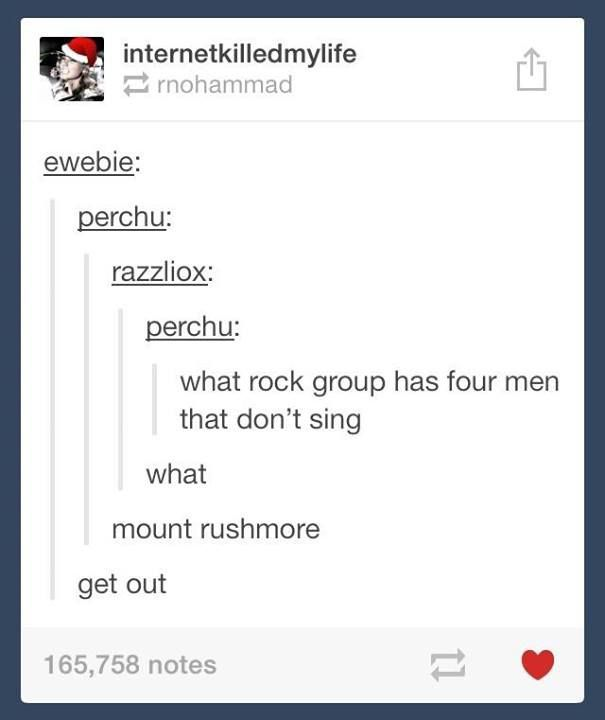 This rock group has been around for years...