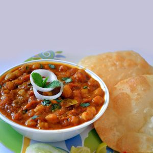 Chole Bhature Recipe | How to make Chole Bhature - Vegetarian