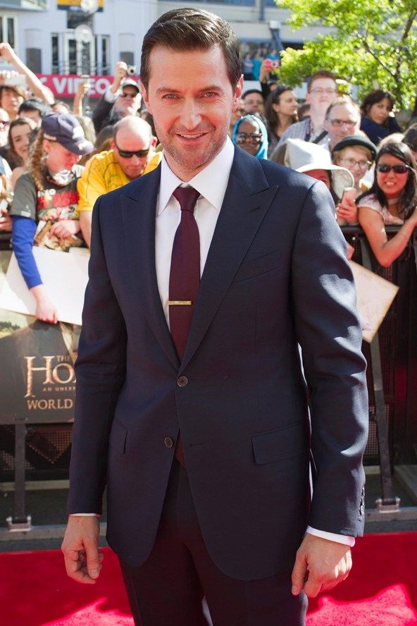 Richard Armitage at the Hobbit premiere in New Zealand