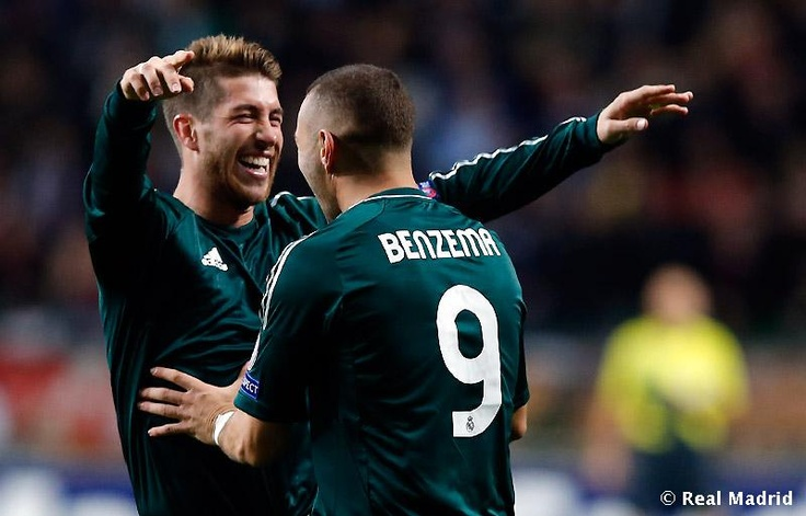 Sergio Ramos, Karim Benzema ||  UEFA Champions League ~ Ajax 1 - 4 Real Madrid
