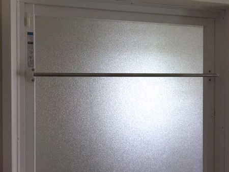 お風呂のドアにlixilバスタオル掛けを設置 思った以上に簡単で便利