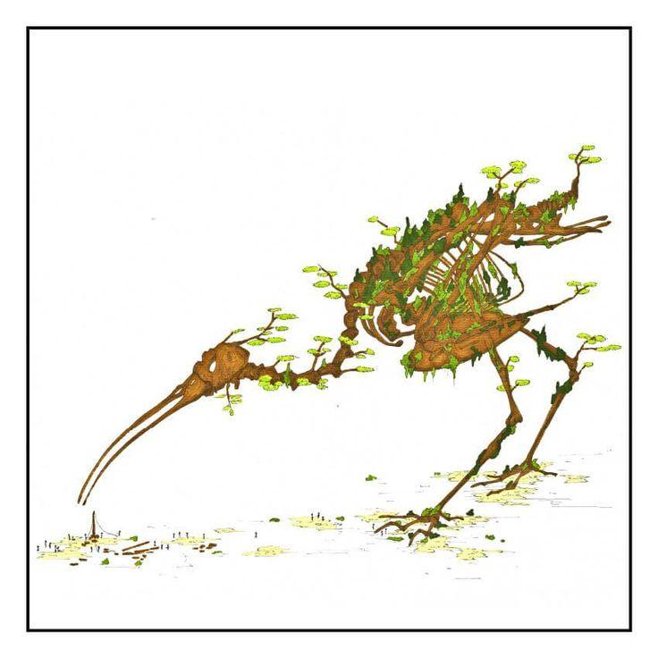La cigogne de bois - Louis Vairel