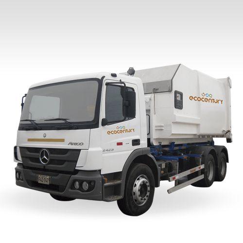 Ecocentury | Gestión de Residuos Sólidos | Compactadora