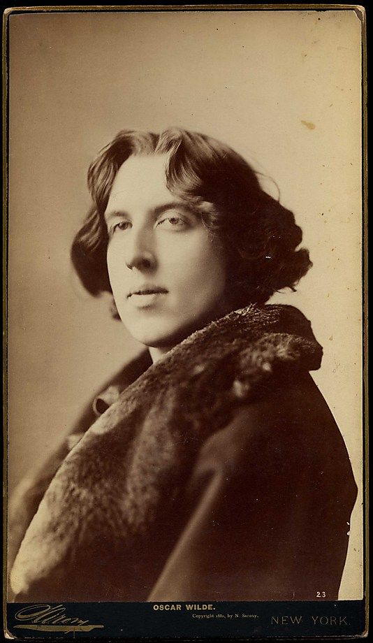 Oscar Wilde  Napoleon Sarony  (American (born Canada), Quebec 1821–1896 New York City)    Date:      1882