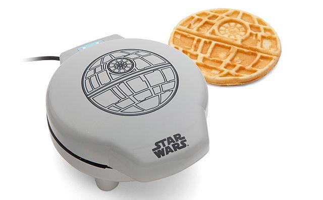 Star Wars Waffle Maker Turns Your Boring Breakfast Into Death Stars