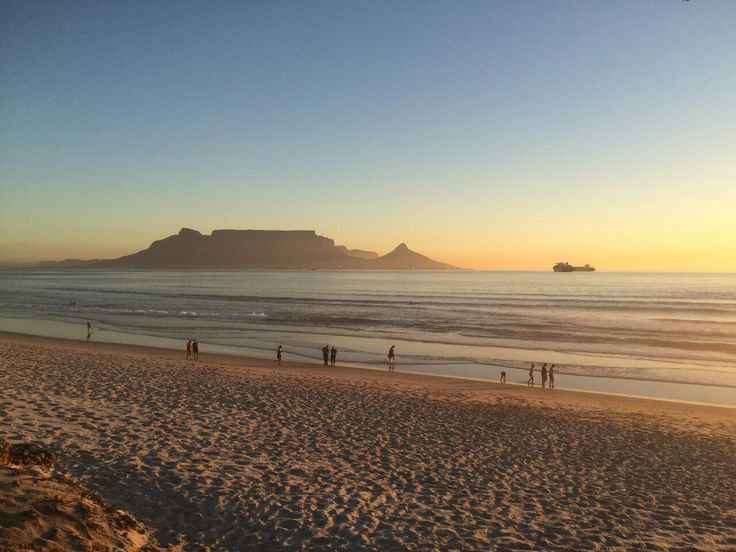 Sunsets At Blouberg Beach