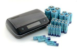 Battery Reconditioning - Combo: TN190 Universal Smart Charger   32 PCS NiMH Rechargeable Batteries (12AA/12AAA/4C/4D) by Tenergy. $96.99. TN190 Charger Features  Benefits: Supports the following NiMH Battery Sizes: AA, AAA, C, D,  9v Fast Smart Charging Capabilities Easy-to-Read Blue LCD Status Display  Ambient Edge Lighting Intelligent Charging Mode with Auto Cut-Off for Safety(Negative delta V) Refresh Button - battery recondition  helps increase battery life Independent Charging Cha...