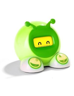 OK to wake alarm clock. It turns green when it's OK for your kid to wake up!