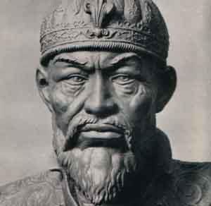 """Timur (1336-1405) veya Batıda bilinen ismiyle Timurlenk, Maveraünnehirli Türk komutan ve hükümdar. Adını verdiği Büyük Timur İmparatorluğu'nun kurucusudur. Tarihin gördüğü en büyük askeri ve siyasi dehalardan biridir. """"Biz ki Mülük-i Turan, Emir-i Türkistan'ız. Biz ki Türk oğlu Türk'üz; Biz ki milletlerin en kadîmî ve en ulusu, Türk'ün başbuğuyuz!"""" Timur"""