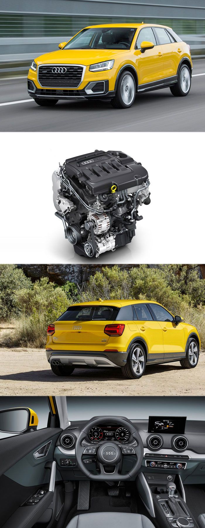 Essential Engine Technologies for New Audi Q2 Crossover Get more details at: http://bestenginesinuk.kinja.com/essential-engine-technologies-for-new-audi-q2-crossover-1783569382