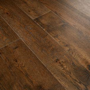 Fusion Antique Oak Brush Matt Lacquered Loc Engineered Flooring