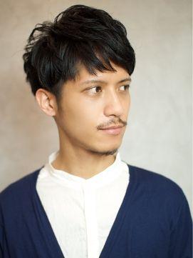 BEKKU hair salon 【ベック ヘアサロン】爽やかマッシュ、ツーブロックショート!黒髮で男度アップ!!