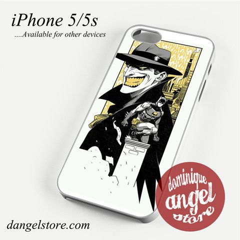 Batman & Joker Comic Phone case for iPhone 4/4s/5/5c/5s/6/6 plus