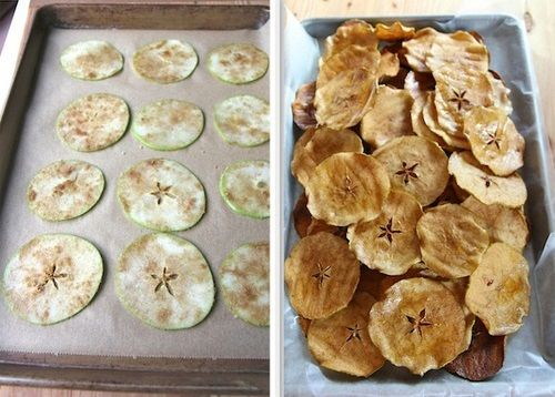Chips saludables de manzana. Esta fabulosa opción puede traerte muchos beneficios, ideal para consumir en meriendas no dejas de consumir frutas saludables solo que esta vez las estás consumiendo de forma distinta. http://wp.me/ptmW5-Bs