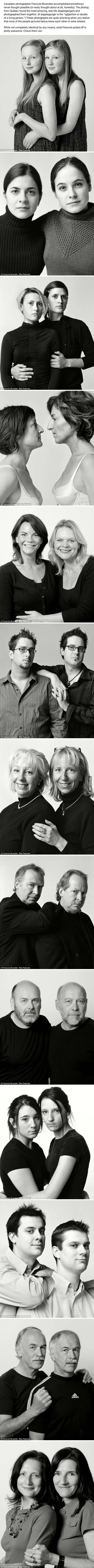 These 13 People Are Not Twins What's Even More Unbelievable… They've Never